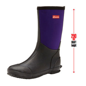Slush Boot Womens Black Plum